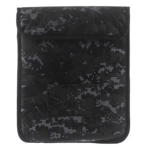 Universal Camouflage Pouch Bag Cover for iPad Pro 9.7 inch, Size: 26.5 x 21cm - Black