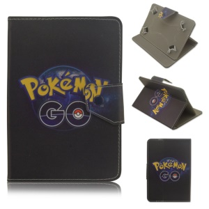Pokemon Go Leather Stand Protection Cover for Samsung Galaxy Tab 3 7.0 P3200 - Pokemon Go and Ball