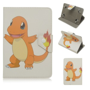 Pokemon Go Leather Stand Case for Samsung Galaxy Tab A 10.1 (2016) - Charmander