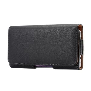 Black PU Leather Belt Clip Case Holster Pouch for iPhone 7 / Samsung Galaxy Note7 N930 / Note 5 / Note 4