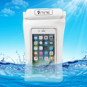 D9ELEMENT Universal Beach Waterproof Bag Case for iPhone 7/ 6s Plus / 6 Plus - White