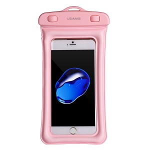 USAMS IPX8 Waterproof Dive Pouch Case for iPhone 6s/6  (Airbag model) - Pink