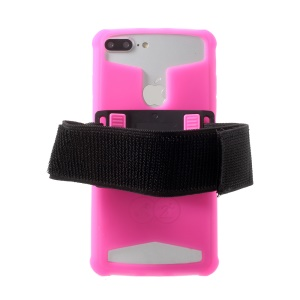 4.0-4.2inch Noctilucent Sports Armband Case for iPhone 5 / 5c / 5s etc - Rose