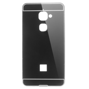 Aluminum Alloy Acrylic Hybrid Back Case for LeTV Le 2/Le 2 Pro - Black