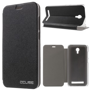 Slim Leather Case with Stand for UMI Touch - Black