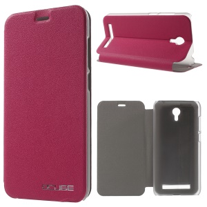 Slim Stand Leather Phone Case for UMI Touch - Rose