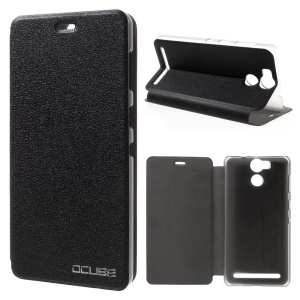 OCUBE Stand Leather Folio Case for UMI Power - Black