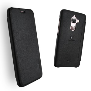 LENUO Ledream Leather Card Holder Case for LeTV Le 2/Le 2 Pro - Black