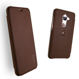 LENUO Ledream Leather Card Holder Shell for LeTV Le 2/Le 2 Pro - Brown
