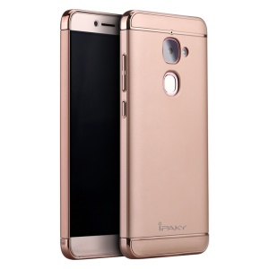 IPAKY Stylish Form-fitting Plastic Hard Back Case for LeTV Le 2/Le 2 Pro - Rose Gold