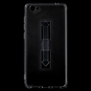 Ring Kickstand Clear TPU Shell for Vivo X5 Pro