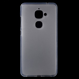 Matte Anti-fingerprint TPU Phone Back Case for LeEco Le 2 - Transparent