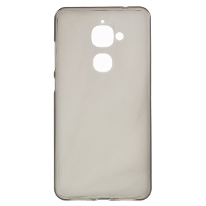 Matte Anti-fingerprint TPU Phone Back Cover for LeEco Le 2 - Grey