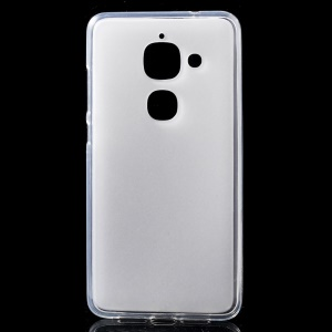 Double-sided Frosted TPU Gel Phone Case for LeEco Le Max 2 - Transparent