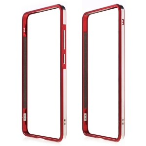 Aluminum Alloy Bumper Shell for LeEco Le Max 2 with Strap + Screw Kit - Red