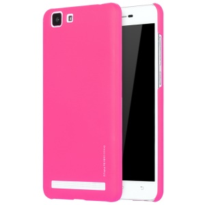 X-LEVEL Rubberized Hard Phone Shell for Vivo X5Max S - Rose