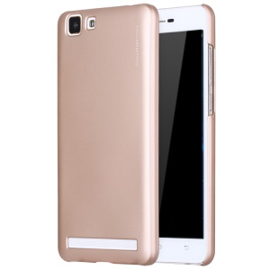 X-LEVEL Rubberized Hard Back Cover for Vivo X5Max S - Gold