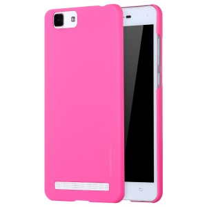 X-LEVEL Rubberized Slim Hard Plastic Case for VIVO X5Max - Rose