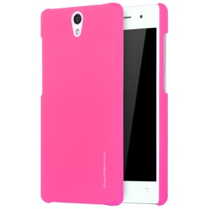 X-LEVEL Metallic Plastic Hard Back Case for Vivo Y33 - Rose
