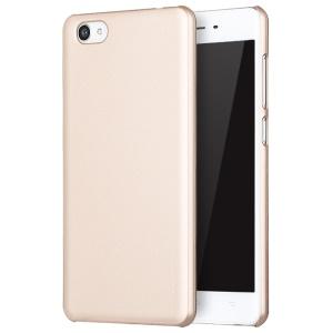 X-LEVEL Rubberized Hard PC Protective Cover for Vivo X5Pro - Gold