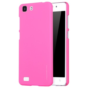 X-LEVEL Rubberized Hard PC Phone Shell for Vivo X5L - Rose