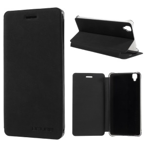Flip Leather Stand Phone Case for Bluboo Maya - Black