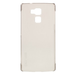 Clear Hard PC Back Phone Case for Vernee Apollo Lite - Grey