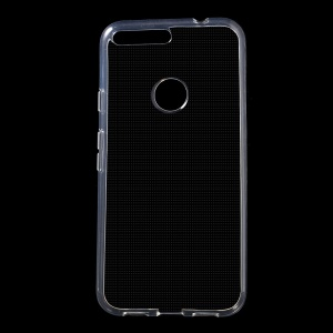 Glossy Soft TPU Case Cover for Google Pixel XL - Transparent