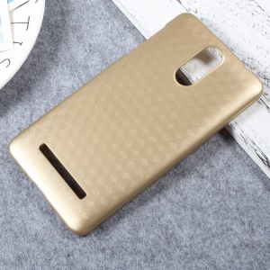 Hard Plastic Back Mobile Phone Casing for Leagoo M8 - Gold