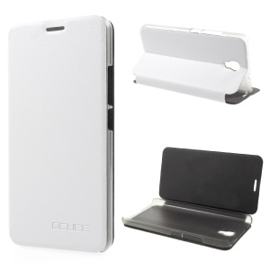 OCUBE PU Leather Stand Phone Casing for Oukitel K6000 Plus - White