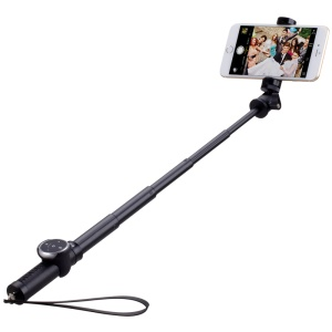 MOMAX Selfie Pro 50cm Extendable Handheld Monopod with Bluetooth Shutter - Black