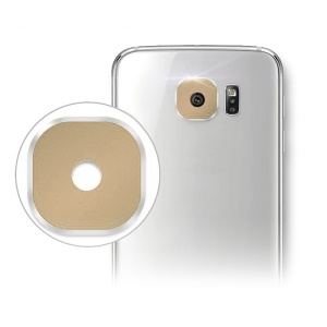 HAT PRINCE Rear Camera Lens Protective Cover for Samsung Galaxy S6 G920 / S6 Edge G925 - Gold