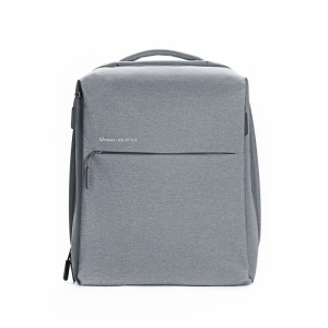 XIAOMI Minimalist Fashion Shoulder Bag Laptop Tablet Backpack - Light Grey