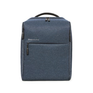 XIAOMI Minimalist Fashion Backpack Laptop Tablet Shoulder Bag Daypack - Dark Blue