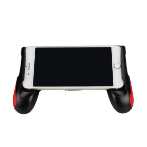 For Any 4.5 ~ 6.5 Inch Smartphone Play Gaming Universal Smart Phone Game Controller Mobile Holder Stand Gamepad - Red