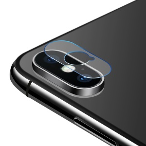 2Pcs/Lot BENKS 0.15mm KR Composite Flexible Glass Back Camera Lens Protector for iPhone X
