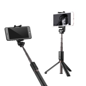 Creative Extendable Selfie Stick Tripod Bluetooth Self Timer for Smartphones, Clamp Width: 56-90mm