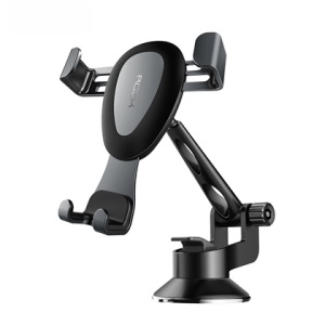 ROCK Adjustable Dashboard Gravity Strong Suction Car Mount - Grey