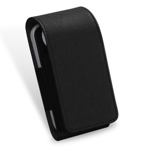 DUX DUCIS PU Leather Carrying Case Pouch Bag for iQOS Electronic Cigarette - Black