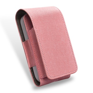 DUX DUCIS PU Leather Protective Cover Carrying Case Pouch for iQOS Electronic Cigarette - Pink