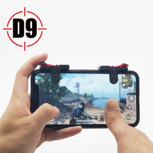 One Pair D9 Quick Shooting Buttons PUBG Phone Game Controllers Assist Tools for STG FPS TPS