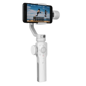 ZHIYUN Smooth 4 3-Axis Gimbal Portable Stabilizer for iPhone Samsung Huawei Xiaomi Google etc - White