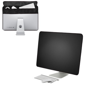 Display Dustproof Cover Screen Protector Guard with Pocket for 27 inch Apple iMac Desktop Computer