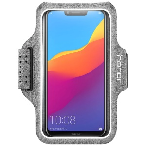 HUAWEI Honor AW19 Sweatproof Sports Armband Case for 5.2-6 inch Smartphones - Grey