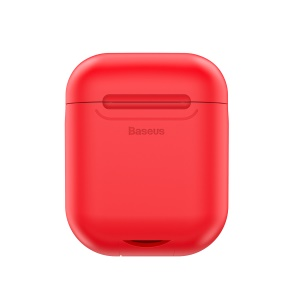 BASEUS Wireless Charger Case 5V/1A for AirPods with Charging Case (2019) / Wireless (2019) / (2016) - Red