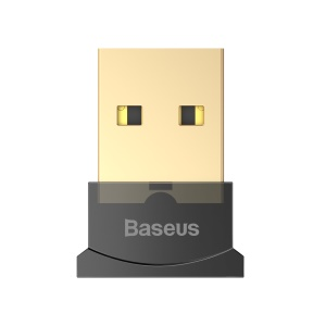 BASEUS Mini Bluetooth Adapter USB Dongle Receiver - Black