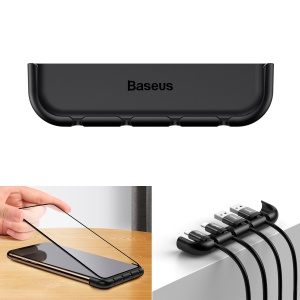BASEUS for iPhone XR 6.1 inch Screen Film Installation Tool and Cable Bundle Auxiliary - Black