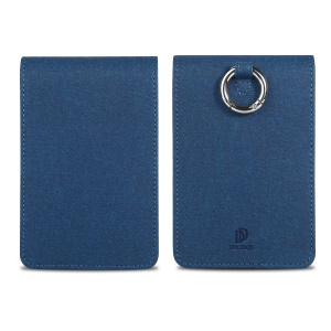 DUXDUCIS PU Leather Protective Cover for IQOS 3.0 Multi Electronic Cigarette - Blue