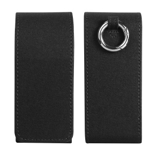 DUXDUCIS Premium Case Leather Protection Shell for IQOS 3.0 Electronic Cigarette - Dark Grey