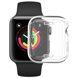 IMAK UX-3 Series for Apple Watch Series 4 44mm Soft Cover Casing [Front Protection Version]